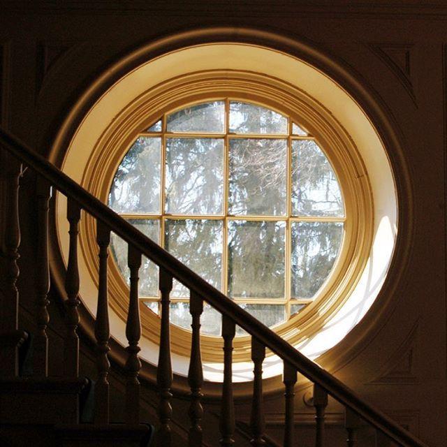 Hufflepuff common room windows!! (Cochran Chapel at Phillips Academy Andover)