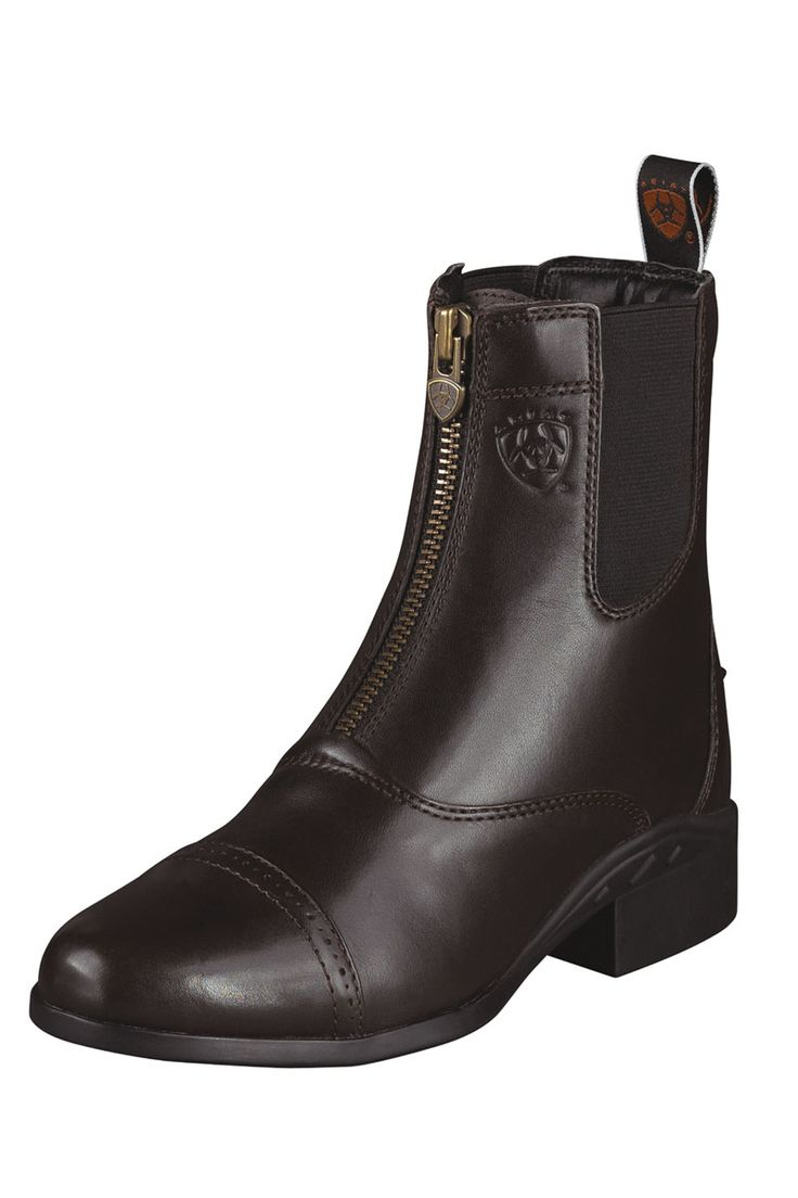 Ariat Heritage III Zip Brown Paddock English Riding Boots