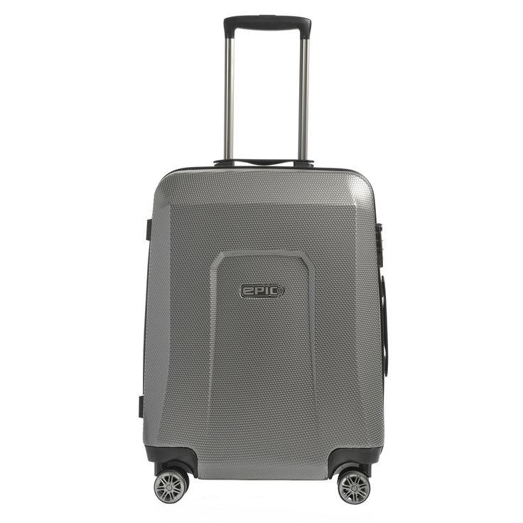 #Handgepäckskoffer EPIC HDX Hexacore bei Koffermarkt: ✓Farbe dark grey ✓4 Rollen ✓IATA-konform 55x40x20 cm ✓2,6 kg ✓37 Liter Volumen