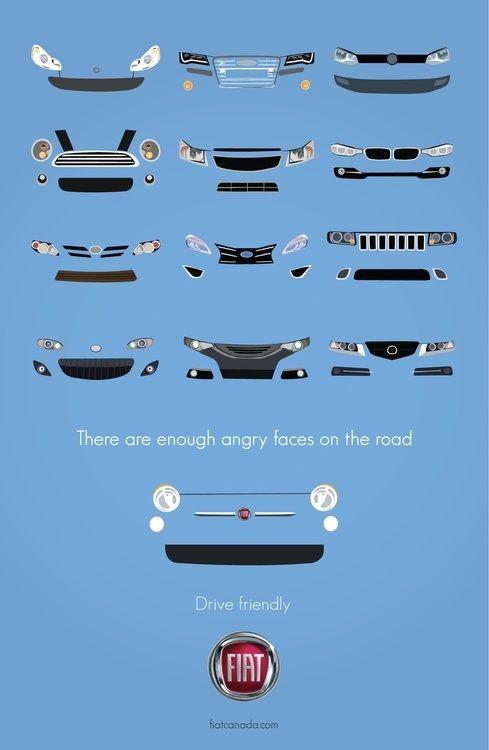 Fiat 500 #advertising #ads #print