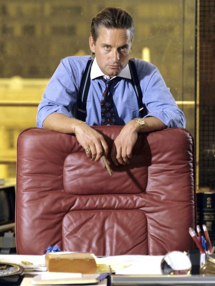 Gordon Gekko.  The point is ladies and gentlemen that greed, for lack of a better word, is good.