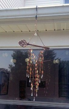 DIY Tuesday: Simple & Brilliant Summer Wind Chime Ideas