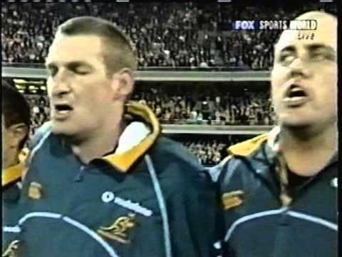 "JAMES BLUNDELL ""RARE"" Advance Australia Fair & Waltzing Matilda"