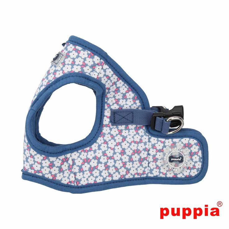 Hawthorn Dog Harness Vest by Puppia Blue Dog harness