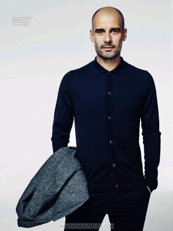 Male Fashion Trends: Pep Guardiola por Sergi Pons para GQ España
