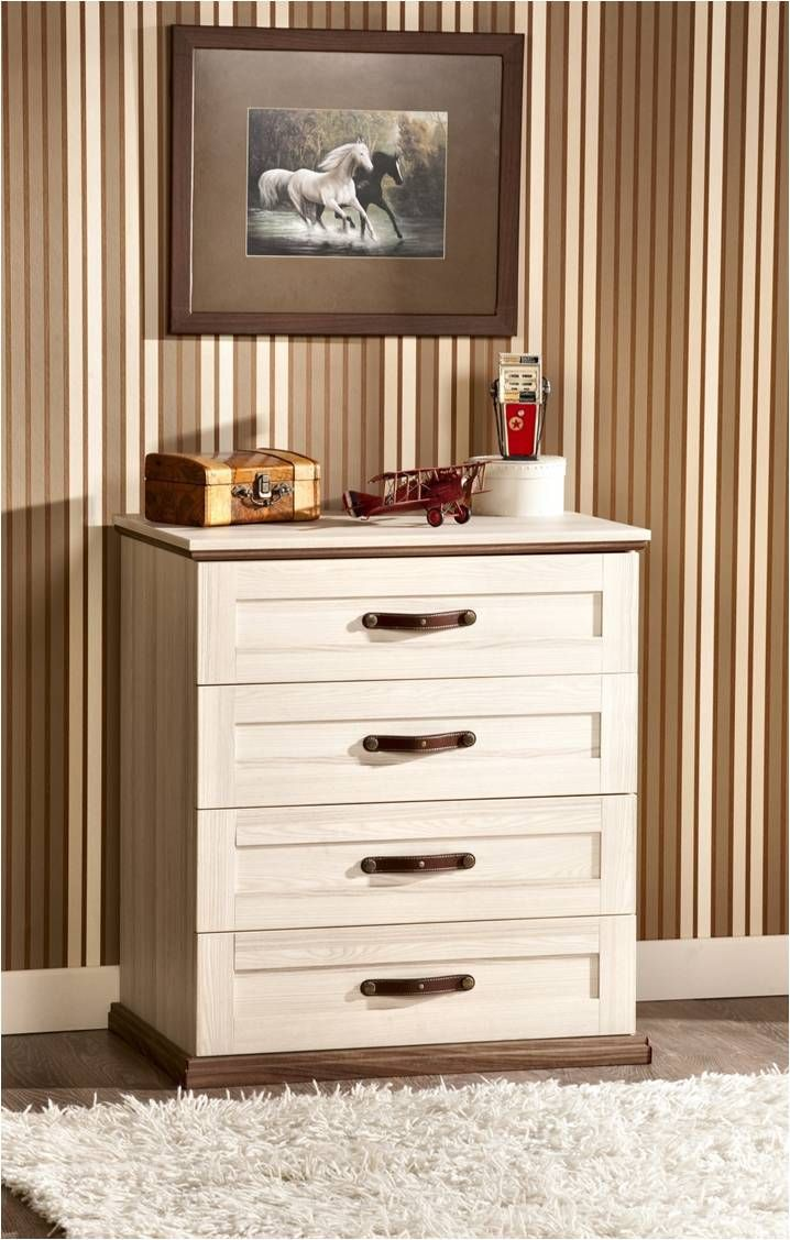 Four drawer dresser from the Royal Series - Available at the Cilek Room Mumbai