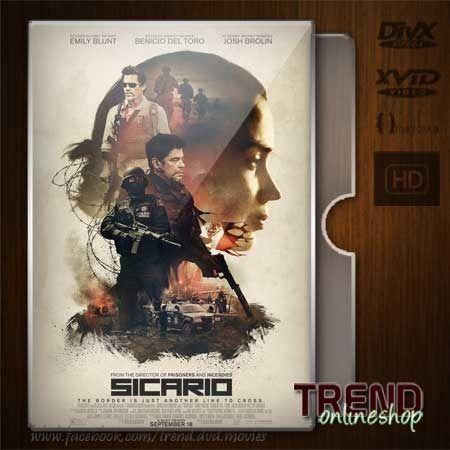 Sicario (2015) / Emily Blunt, Benicio Del Toro / Action, Crime, Drama / Ind / 1080p | #trendonlineshop #trenddvd #jualdvd #jualdivx