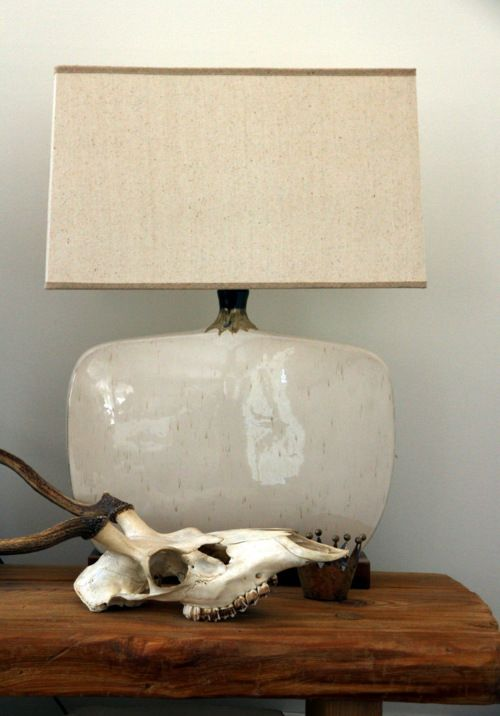 .: Interior, Inspiration, Sweet, Style, Texture, Pottery Lamps Skulls, Cool Lamps, Ceramics