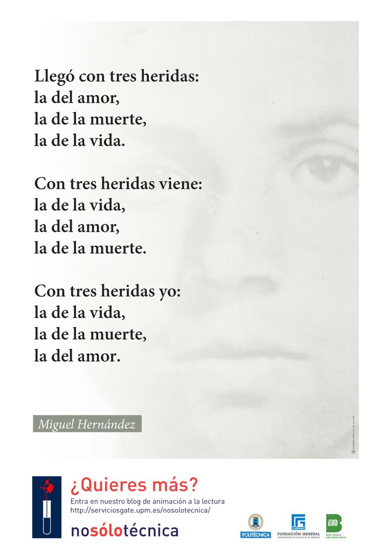 Miguel Hernandez (Orihuela, 1910 - Alicante, 1942)