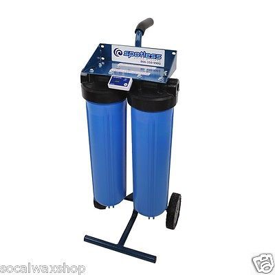 CR Spotless De-ionized High Output Rolling Portable 300 Gallon DI Water DIC-20