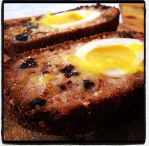 All Day Breakfast Scotch Egg, Ben's Canteen, St John's Hill, Battersea