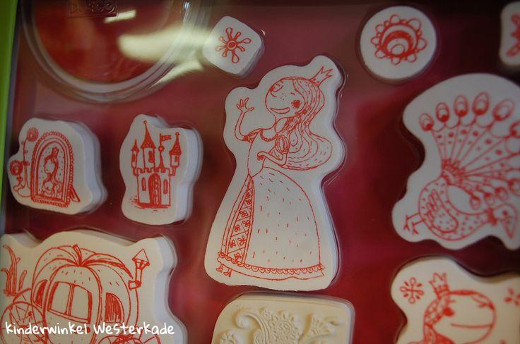 prinsessen stempels van Djeco | Kinderwinkel Westerkade