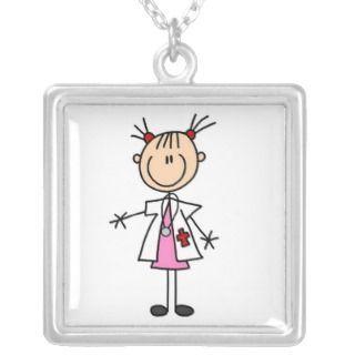 stick nurse   White Female Stick Figure Nurse T shirts and Gifts Invite