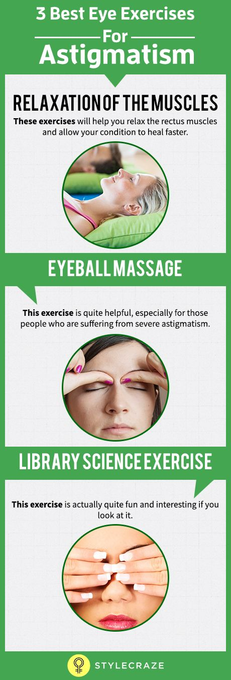 Are you suffering from astigmatism? Is your vision poor and is your eye health deteriorating? You must be considering treatment, that's obvious. But then, there are a few exercises you can do to help cope with the ailment and accelerate the recovery.