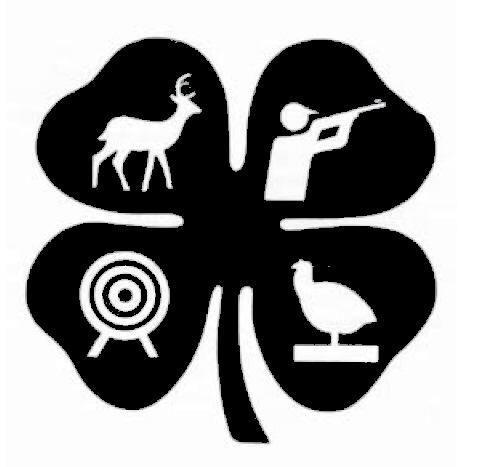 Shooting sports clover logo