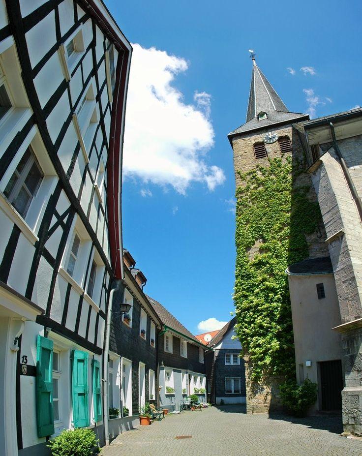 Wülfrath-Kirchturm Panorama