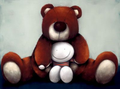 Bear Hugs a limited edition print by Doug Hyde