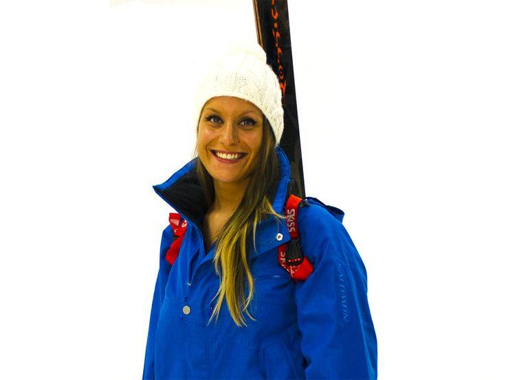 Porte-skis dorsal SKISS... la sangle pour porter ses skis ! ❄ SKISS