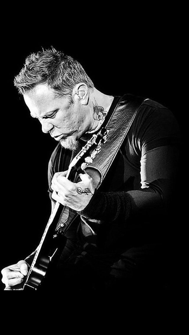 James Hetfield....metal monster forever m/