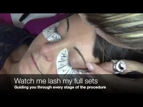 ONLINE EYELASH EXTENSION TRAINING - Beginners course - YouTube