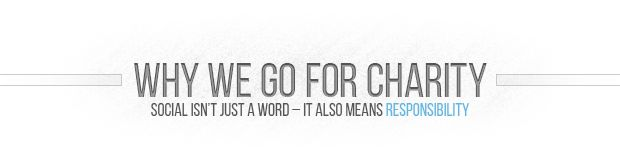 We Think Differently - We Think Charity