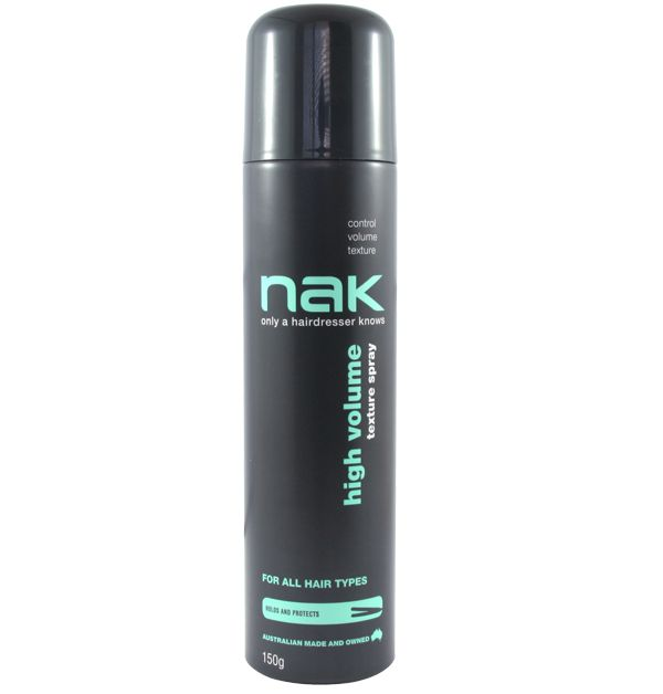 High Volume Texture Spray #NAKiconstyling #NAKhair