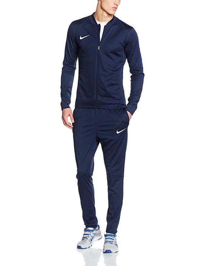 Competidores Solenoide Prever  Nike Academy16 Knt Tracksuit 2-Tuta e pantaloni sportivi Uomo, Blu  (Ossidiana/Deep Blu Royal/Bianco), Taglia … | Nike clothes mens, Sport  outfit men, Nike tracksuit