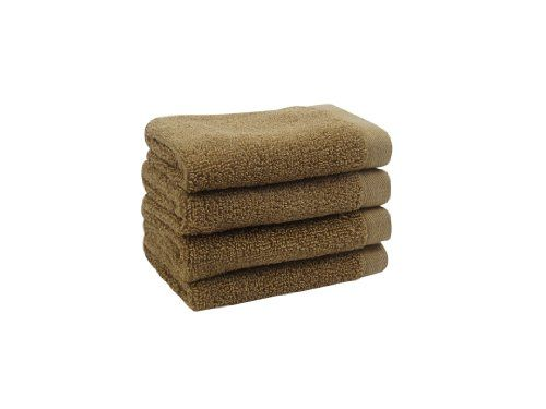David Bromstad 4-Pack Wash Cloth, 12 by 12-Inch, Kelp. 1 wash cloth measures 12 Inch wide by 12 Inch long. Coordinating bath sheet, bath towels and hand towels. (width: 600), (height: 200) hundredths-inches. David Bromstad hand-picked color palette. Low lint, absorbent. 1 wash cloth measures 12 inches wide by 12 inches long. Set of 4 wash cloths, 100% cotton.