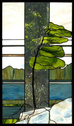 Teresa Seaton Stained Glass Gallery Trees