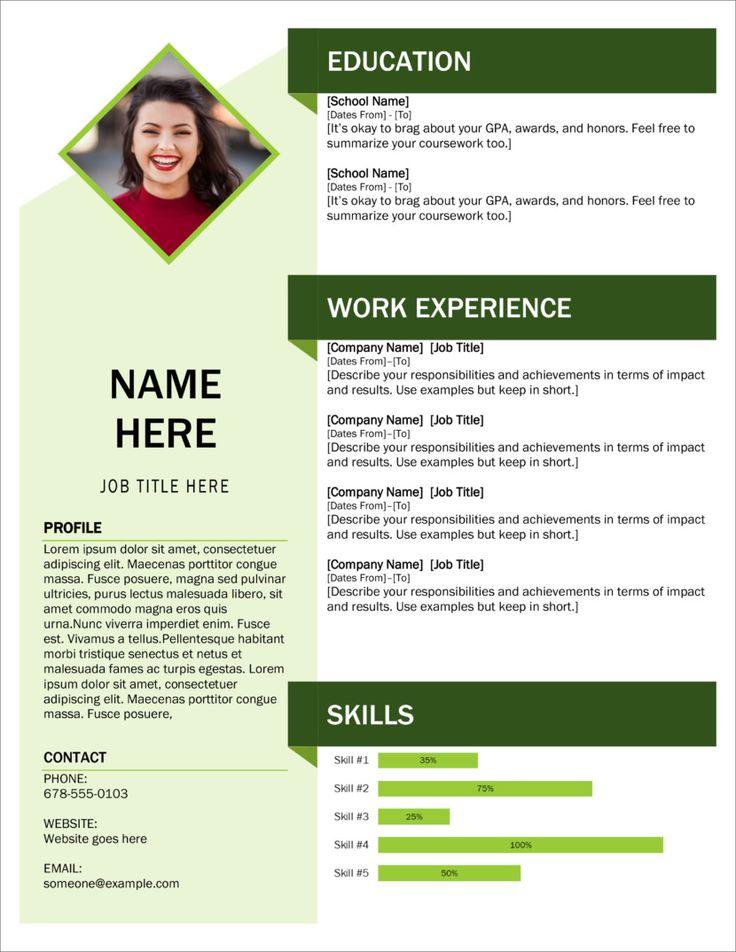 45 free modern resume cv templates minimalist simple