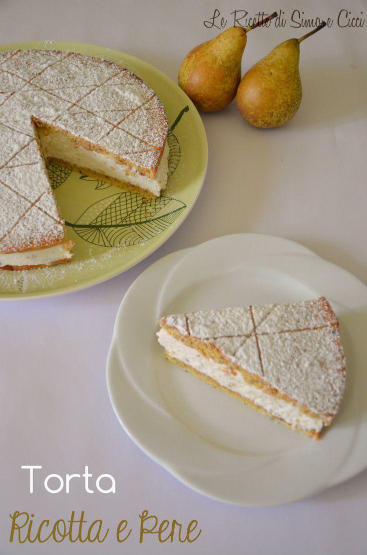 La Torta Ricotta e Pere è un famoso dolce campano dal sapore molto delicato dovuto al connubio tra la cremosità della ricotta e la dolcezz