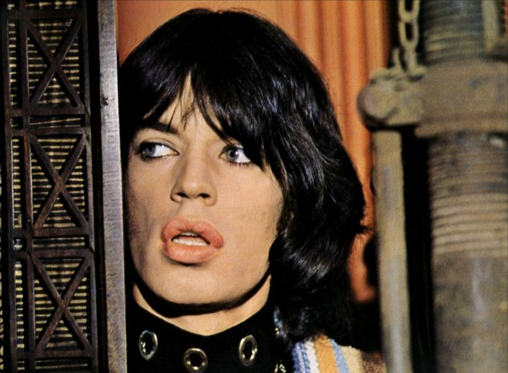 Mick Jagger in Performance directed by Donald Cammell and Nicolas Roeg -1970