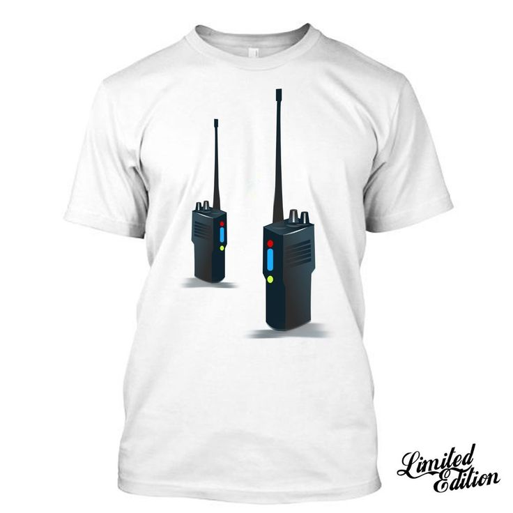 Walkies Talkie CB I Love 70's Electronics Citizens Band Radio T Shirt Tees  #Unbranded