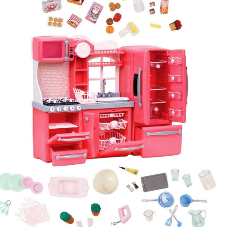 116 best our generation 18 inch doll from target images on for Doll kitchen set