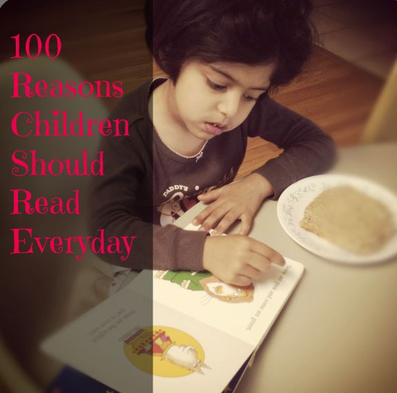 Why Children Should Read Everyday