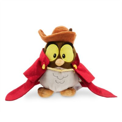 From our adorable Animators' Collection, this cuddly character is a must-have for Sleeping Beauty fans! Made from super soft plush fabric, it depicts the friendly owl in Prince Philip's hat and cape.