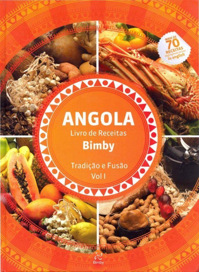 Traditional Angola livro de receitas bimby