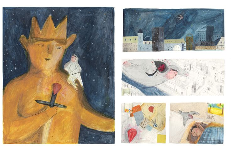 The Happy Prince - Illustrations by Maisie Paradise Shearring