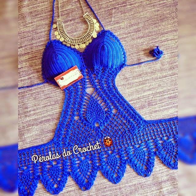 * Pérolas do Crochet: Body mini vestidinho em crochet