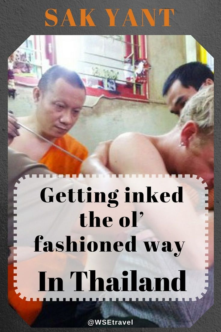 Buddhist monks and devoted practicers have been getting Sak Yant bamboo tattoos for centuries. This is a way you can get your own, in the traditional style.