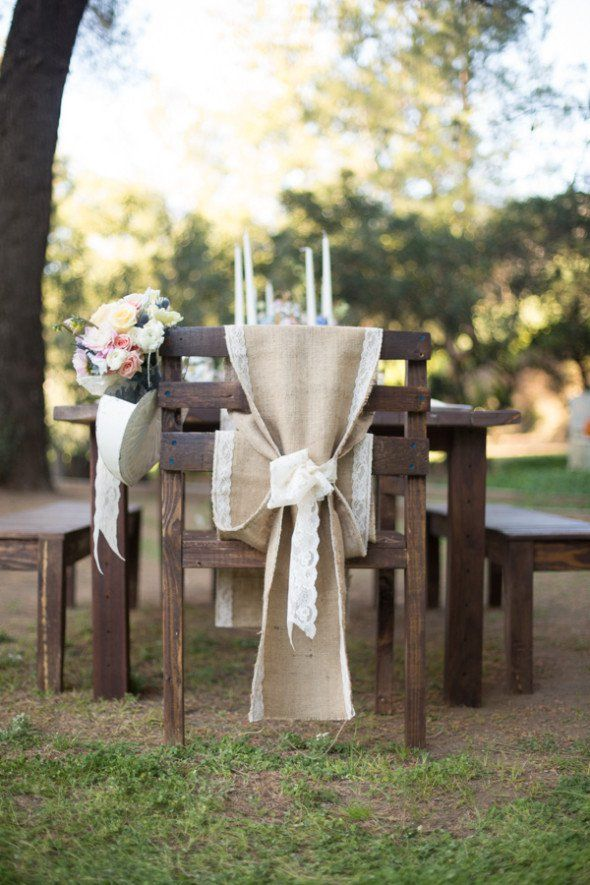 Country Burlap Wedding Inspiration
