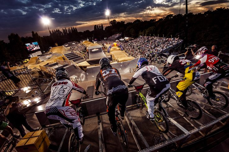 Red Bull's R.Evolution BMX racing concept returned for a second edition in August. Organisers at Berlin's Mellowpark created a track that pushed the limits of BMX racing with a course build that was outside the normal UCI restrictions.