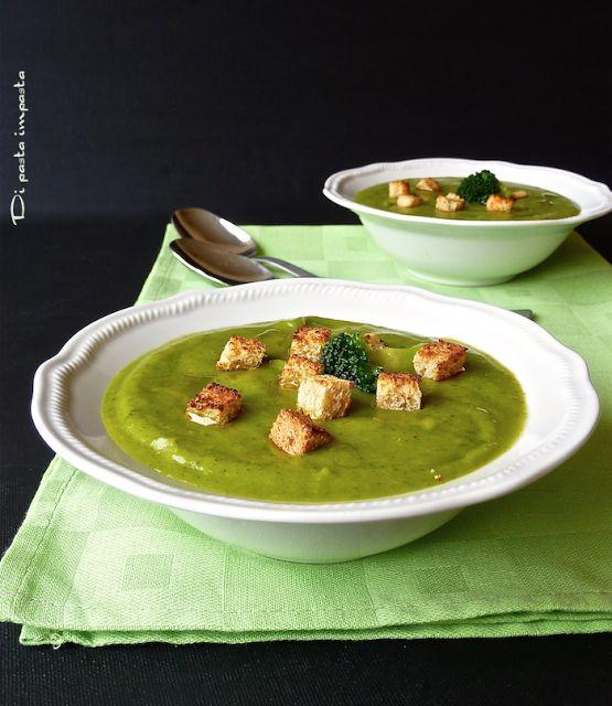 Di pasta impasta: Vellutata di broccoli