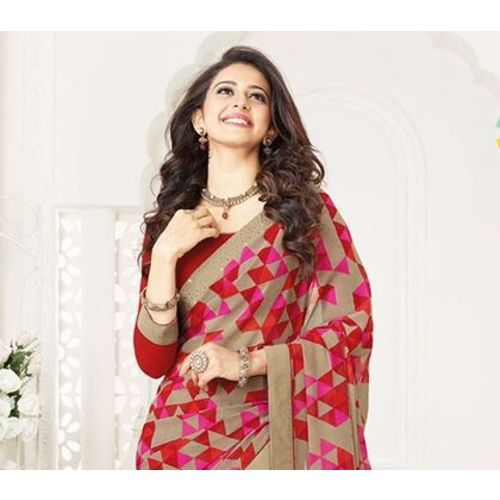 Shop Royalvilla Special Printed Bollywood Causal Georgette Sari by Royalvilla online. Largest collection of Latest Sarees online. ✻ 100% Genuine Products ✻ Easy Returns ✻ Timely Delivery