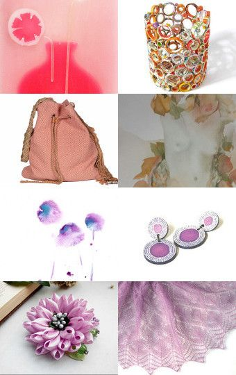 Rose Pinks by Alex McArthur on Etsy--Pinned with TreasuryPin.com