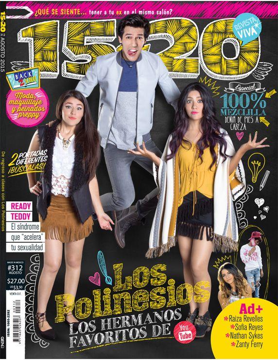 ¡Los Polinesios en Revista 15a20! Portada 1. Agosto 2015.