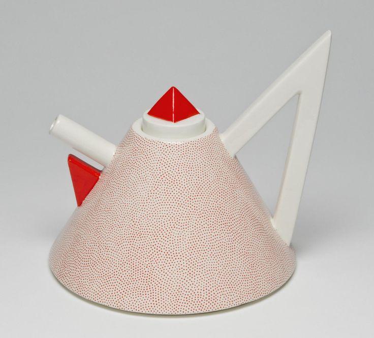 "Teapot from the ""Nefertiti"" Tea Service Designed by Matteo Thun Made by Flavia S.r.L. 1981"
