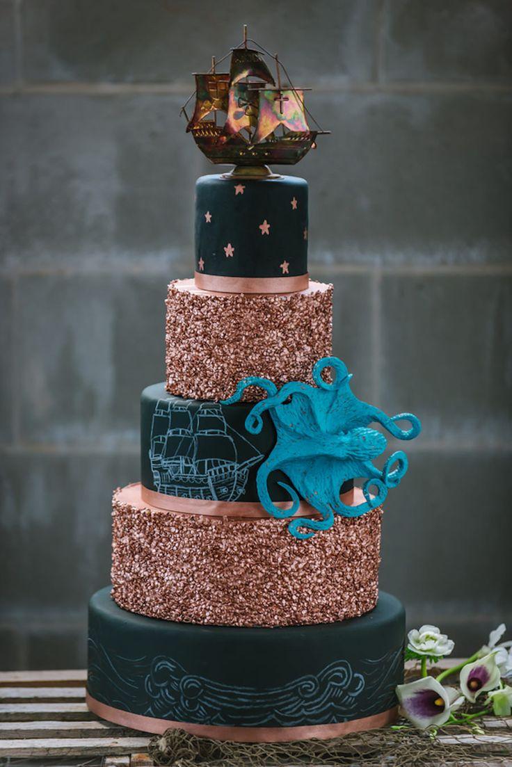Chalkboard Cake Images