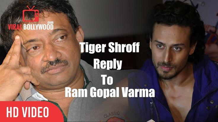Tiger Shroff Reaction On Ram Gopal Varma Tweets And Posts Social Media Bullying