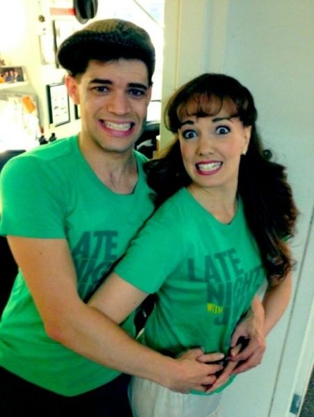 their awkward prom picture #SIP <--- Magical. Just...magical.